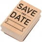 Preview: Rico-Design Holzstempel - Save the Date
