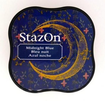 StazOn Stempelkissen - Midi Midnight Blue