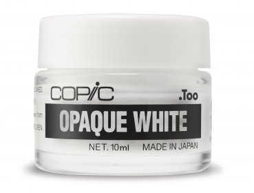 COPIC OPAQUE WHITE im Tigel, 10 ml