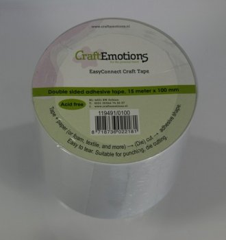 CraftEmotions - EasyConnect Craft Tape 15m x 100mm