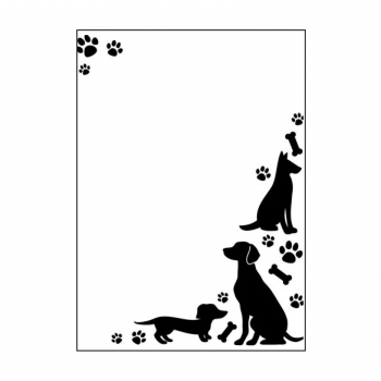 Darice - Embossing Folder Dogs and Paws
