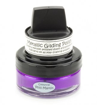 Cosmic Shimmer - Metallic Gilding Polish - Purple Paradise