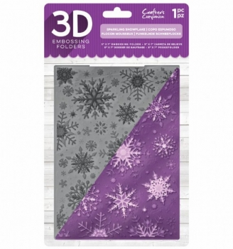 Crafter´s Companion - Embossing Folder Sparkling Snowflake