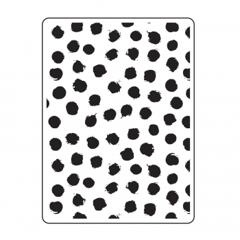 Darice - Embossing Folder Blot Dots