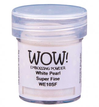 WOW! Embossing Powder - White Pearl Super Fine