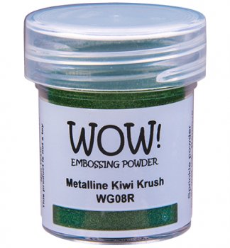 WOW Embossing Powder - Metalline Kiwi Krush