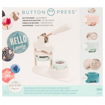 We R Memory Keepers - Button Press All in One Kit