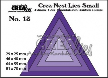 "CREAlies Stanzschablone No. 13 ""Triangles"""