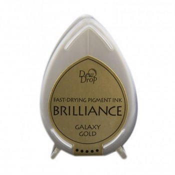 Brilliance Stempelkissen Dew Drop Galaxy Gold