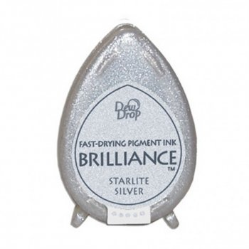 Brilliance Stempelkissen Dew Drop Starlite Silver