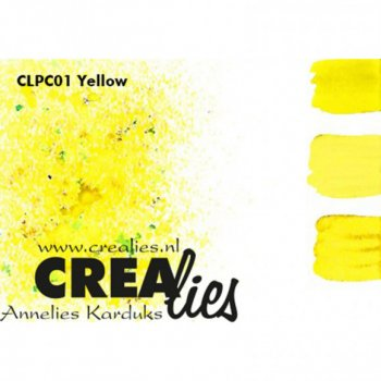 Crealies - Pigment Colorzz Yellow