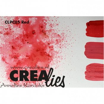 Crealies - Pigment Colorzz Red