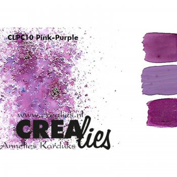 Crealies - Pigment Colorzz Pink-Purple