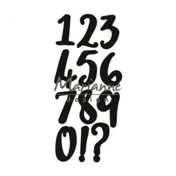 Marianne Design CreaTables - Brush Numbers