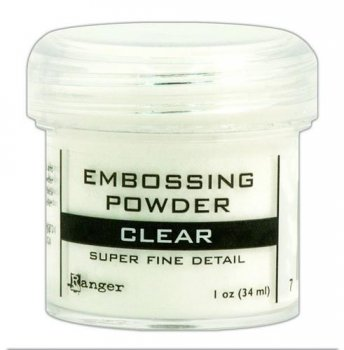 Ranger - Embossing Powder - super fine clear