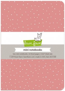 Lawn Fawn - Perfectly Pink Mini Notebooks