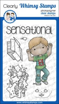 Whimsy Stamps - Polka Dots Pals Tobias