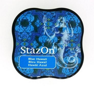 StazOn Stempelkissen - Midi Blue Hawaii