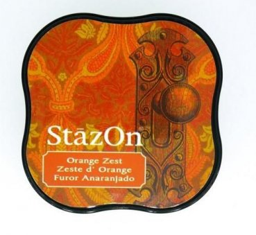 StazOn Stempelkissen - Midi Orange Zest