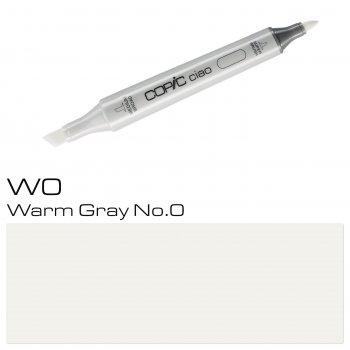 COPIC ciao Marker - Warm Gray No.0