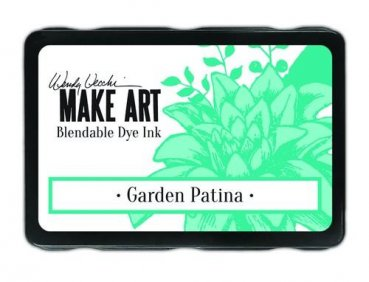 Ranger MAKE ART Dye Ink Pad - Garden Patina