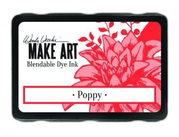 Ranger MAKE ART Dye Ink Pad - Poppy