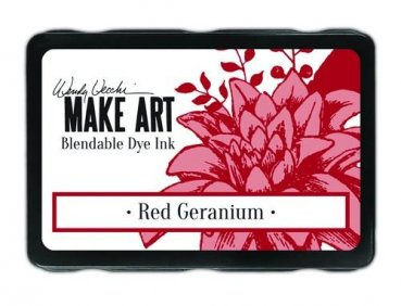 Ranger MAKE ART Dye Ink Pad - Red Geranium