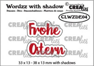 CREAlies  -  Frohe Ostern - Word with Shadow