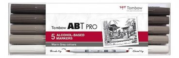 ABT PRO 5er Set Basic Colors - Warm Grey