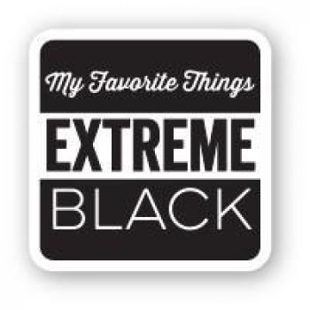My Favorite Things - Hybrid Ink Cube - Extreme Black Mini