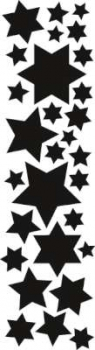 Marianne Design CrafTables - Silver Selection - Stars