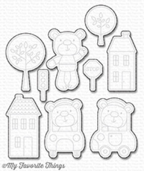My Favorite Things - Die-namics - Town Bear