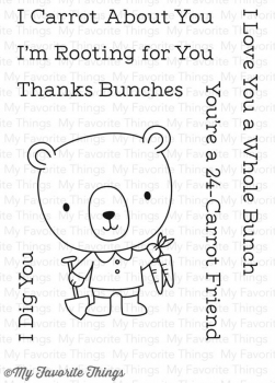 My Favorite Things - Clear Stamps- Rooting for You