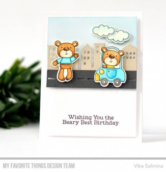 My Favorite Things - Clear Stamps- Town Bear