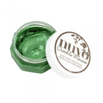 Nuvo - Crackle Mousse Chameleon Green