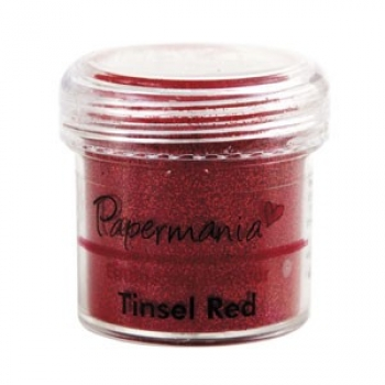 Papermania - Embossing Powder Tinsel Red