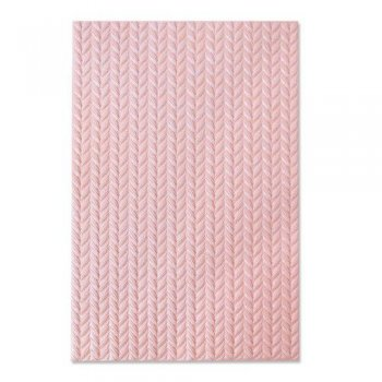 Sizzix • Tim Holtz Embossing Folder - Knitted