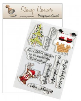 Stamp Corner - Stempel Set - Adventszeit