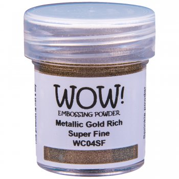 WOW! Embossing Powder - Gold Rich Pale