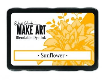 Ranger MAKE ART Dye Ink Pad - Sunflower