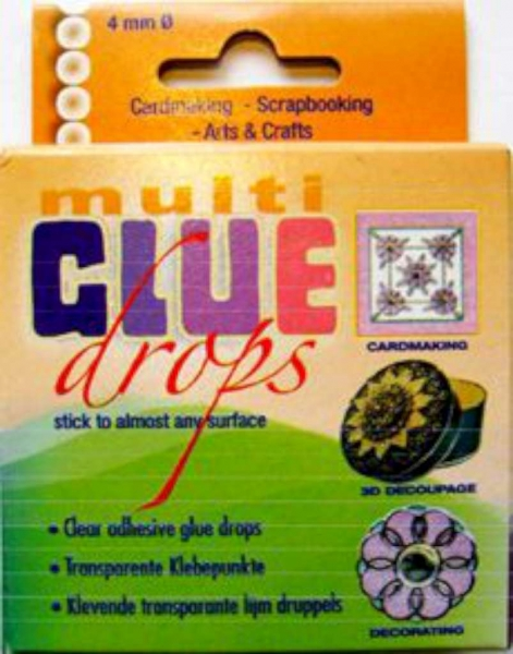 3 D Klebepunkte Multi Glue Drops 4mm