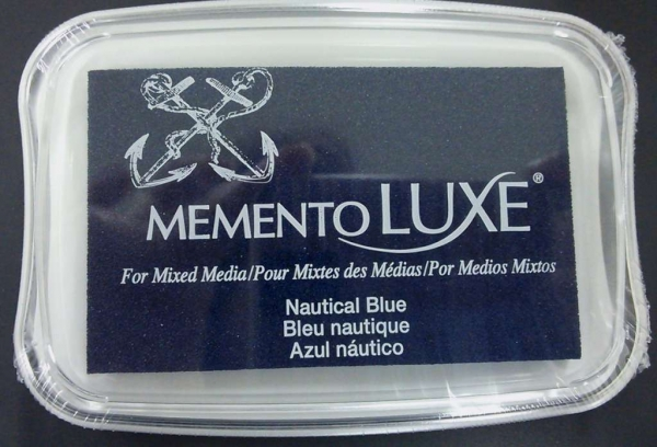 Memento Luxe - Nautical Blue